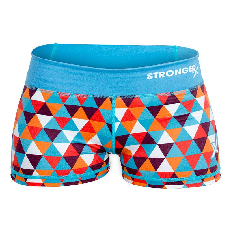 Helix RX3 CrossFit-style women's compression shorts from Stronger Rx