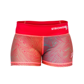 Orange compression CrossFit-style Shorts form StrongerRx