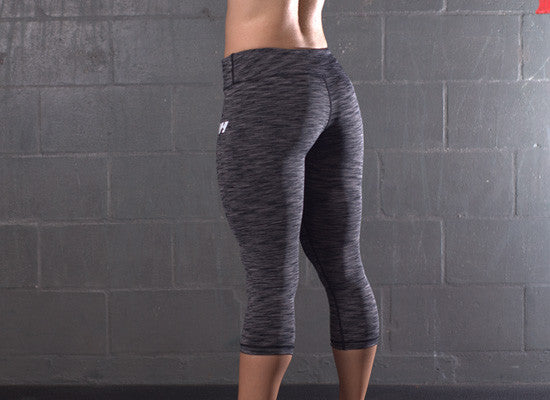 CrossFit-style Capri Pants from G2OH (Multi-Black)