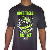 Don't Tread On Me CrossFit-style men's t-shirts from 321 Apparel