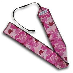 Pink Camo CrossFit-style Wrist Wraps ---  Train Dirty Wrist Wraps