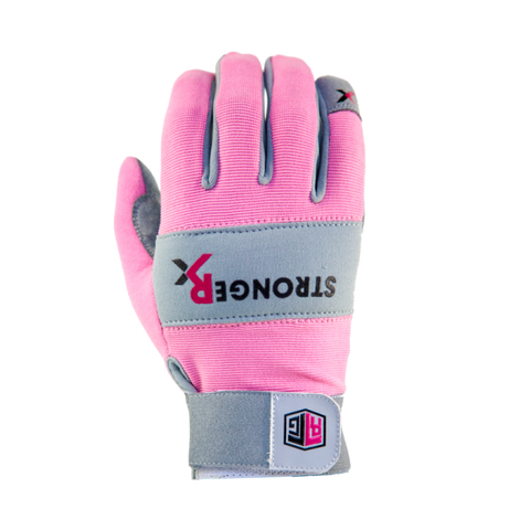 StrongerRx RTG 2.0 CrossFit-style Gloves (Pink)