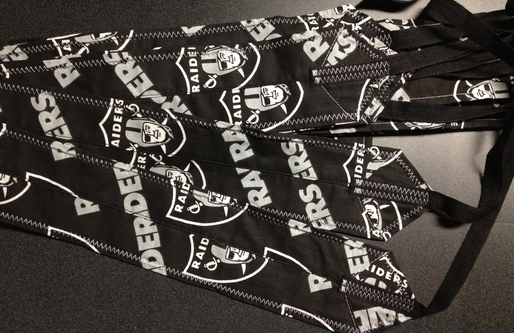 Oakland Raiders CrossFit-style Wrist Wraps from Atlas Power Wraps