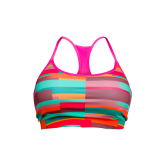 Orange Reversible CrossFit-style Workout Sports Bra from Stronger Rx