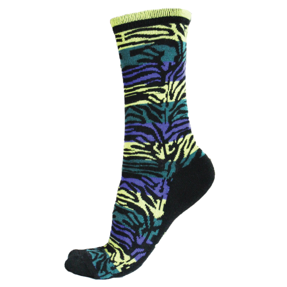 Striped Zebra CrossFit-style Socks from Biffit Gear