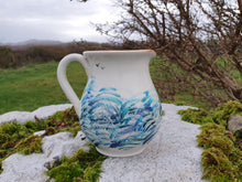 Load image into Gallery viewer, Half Litre Jug - Ocean Swirls