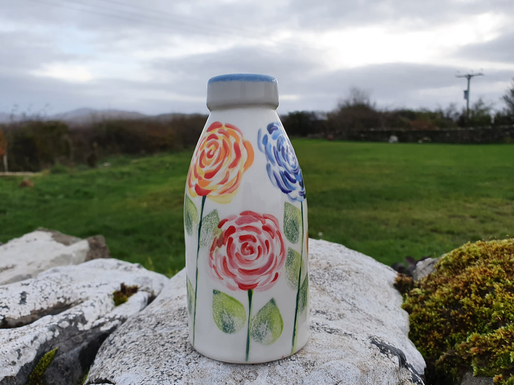 Milk Bottle Vase - Cairistiona Rose