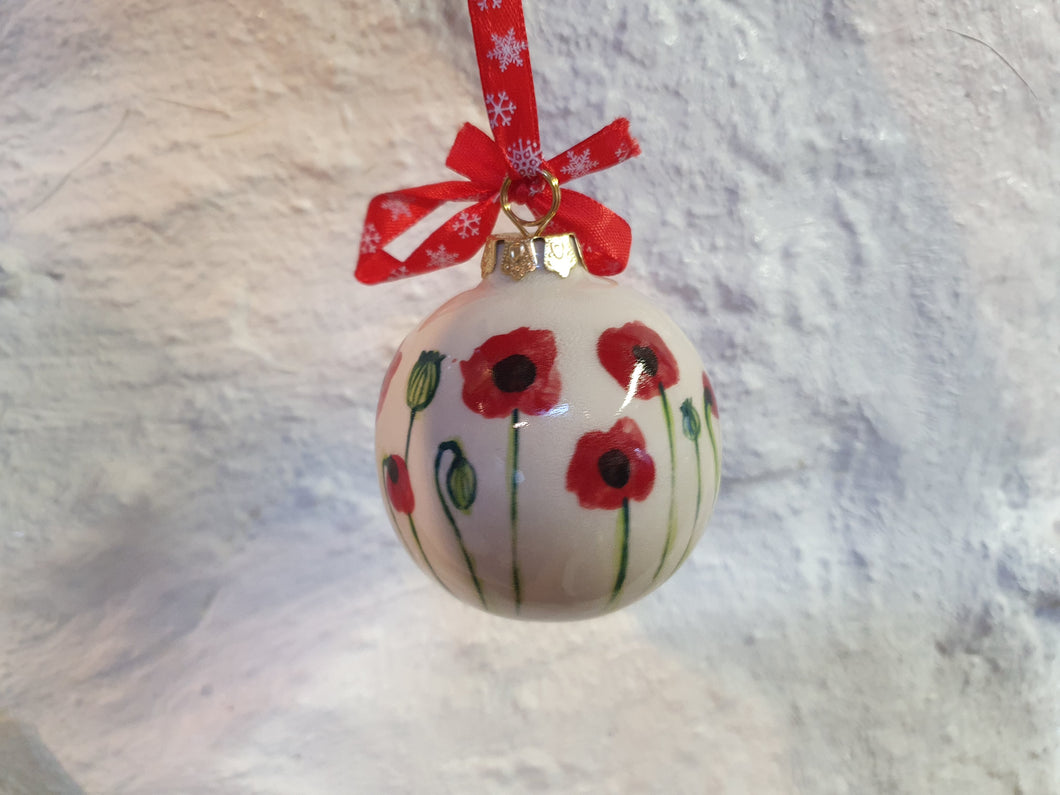 Small Christmas Bauble - Josie Poppy