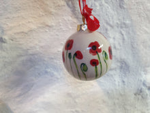 Load image into Gallery viewer, Small Christmas Bauble - Josie Poppy