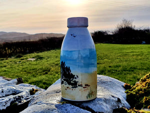 Milk Bottle Vase - Sheena's Islay Beach Time