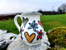 Load image into Gallery viewer, Half Litre Jug - Hebridean Happy Heart