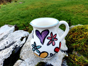 Half Litre Jug - Hebridean Happy Heart