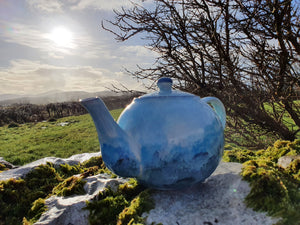 Traditional Teapot - Lucy Sea Breeze