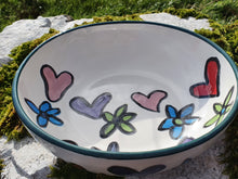 Load image into Gallery viewer, Small Serving Bowl - Helen Happy Heart