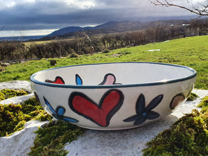 Small Serving Bowl - Helen Happy Heart