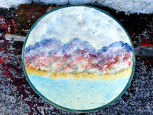 Load image into Gallery viewer, Medium Round Serving Bowl (with rim) - Misty Isle