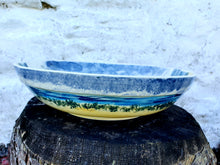 Load image into Gallery viewer, Medium Round Serving Bowl (with rim) - Duncan's Bunnahabhain range