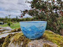 Load image into Gallery viewer, Deep Serving Bowl - Lucy Sea Breeze