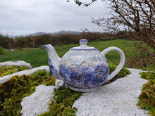Load image into Gallery viewer, Small Teapot - Kate's Purple Heather
