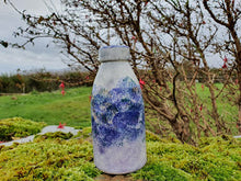 Load image into Gallery viewer, Milk Bottle Vase - Kate's Purple Heather