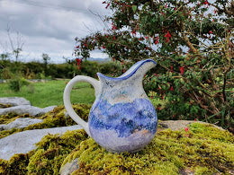 Traditional Jug - Kate's Purple Heather