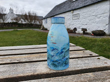 Load image into Gallery viewer, Milk bottle Vase - Lucy Sea Breeze