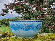 Load image into Gallery viewer, Small Round Bowl - Lucy Sea Breeze