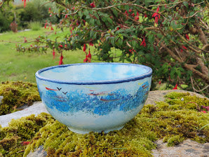 Small Round Bowl - Lucy Sea Breeze