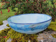 Load image into Gallery viewer, Small Serving Bowl - Lucy Sea Breeze