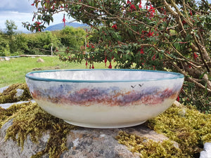 Small Serving Bowl - Misty Isle