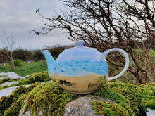 Load image into Gallery viewer, Traditional Teapot - Sheena's Islay Beach Time
