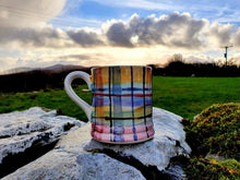 Load image into Gallery viewer, Daddy Mug - Valinda's Rainbow Tartan