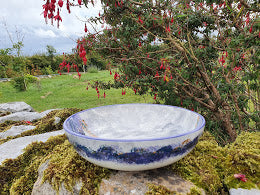 Small Serving Bowl - Kate's Purple Heather