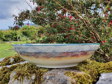 Load image into Gallery viewer, Large Round Serving Bowl (with rim) - Misty Isle