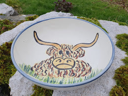 Small Serving Bowl - Pringle The Highland Cow