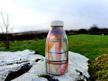 Load image into Gallery viewer, Milk Bottle Vase - Valinda's Hogmanay Tartan
