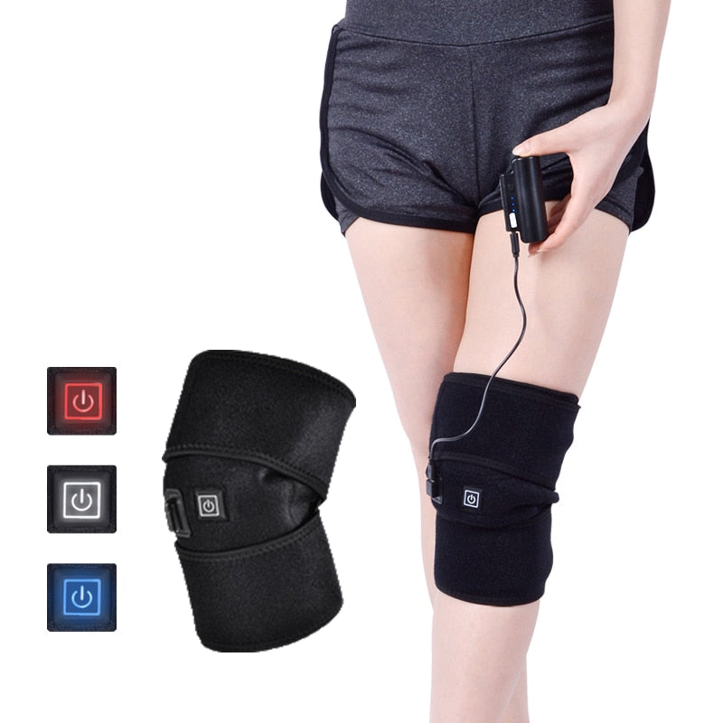 Thermal Knee Heating Pad Massager