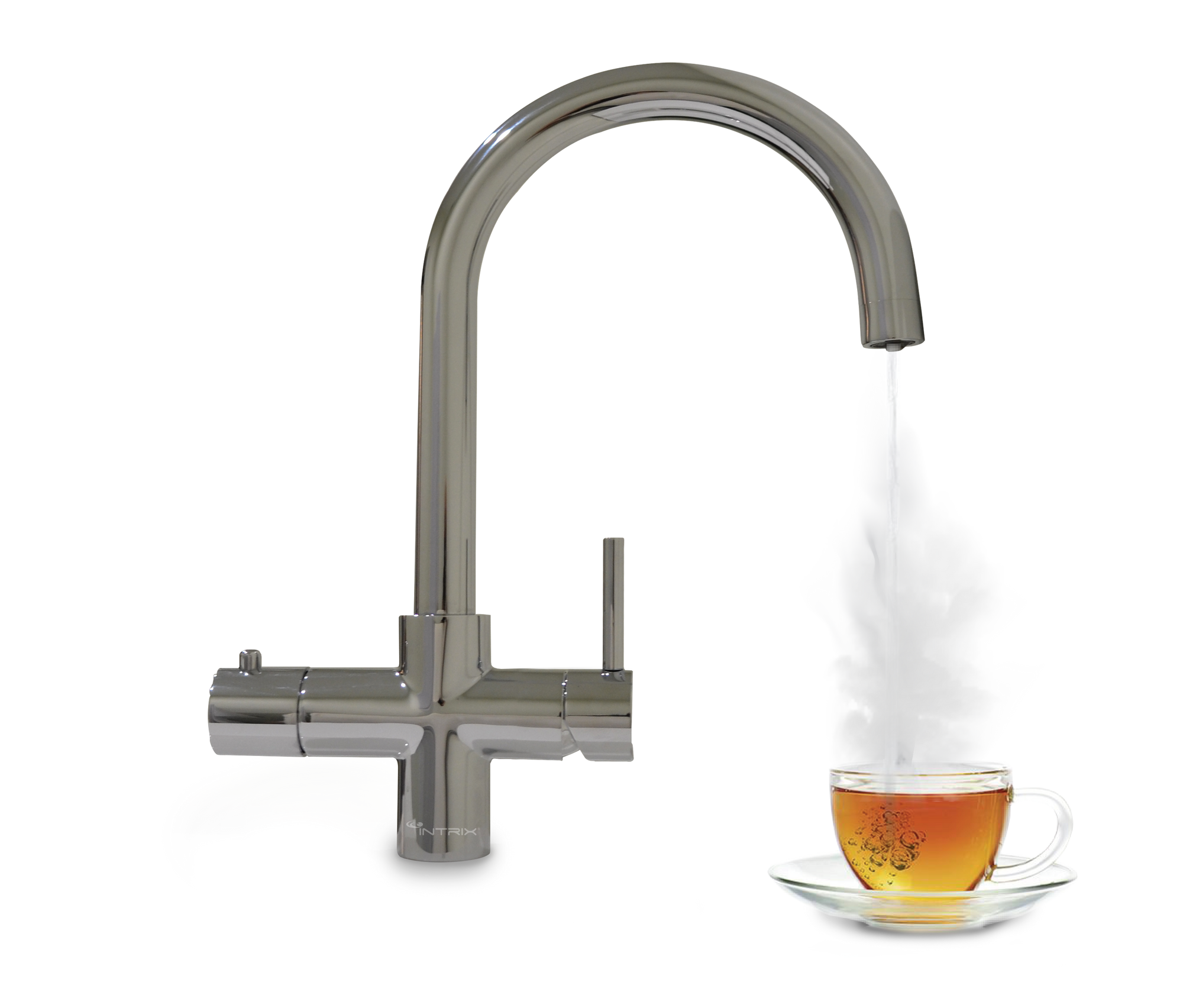 REINZ 3 Instant Boiling Water Tap With Premium 4-in-1 Tap (Chrome)
