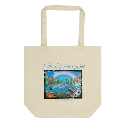 What A Wonderful World Rainbow Still Tote Bag