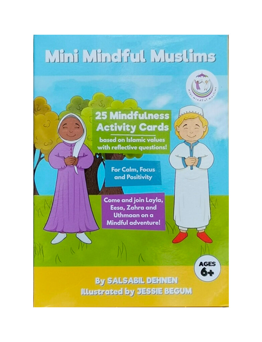 Mini Mindful Muslim  Activity cards
