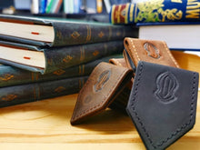 Load image into Gallery viewer, Sandala leather magnetic bookmark