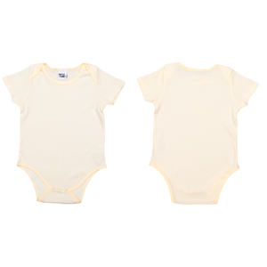 Organic Baby Bodysuit - Natural