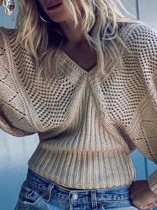Bat Sleeve Loose-fit Sweater