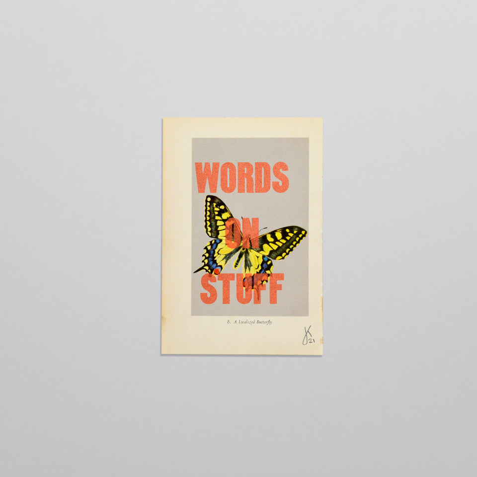 Words on stuff - Butterflies 02