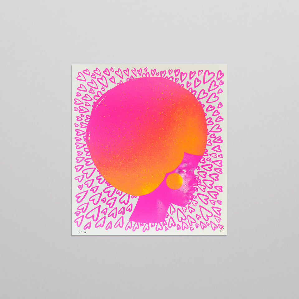 Colours of the brain - Pink & Yellow