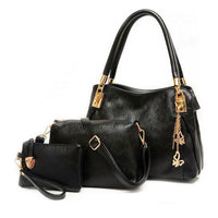 Black purse set