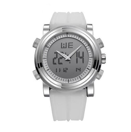 Designer Digital Wrist Watch In Silverwhite