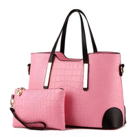 Designer purse and bag pink
