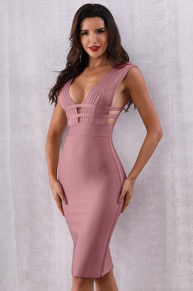 Pink women designer dress