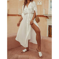 White long beachwear